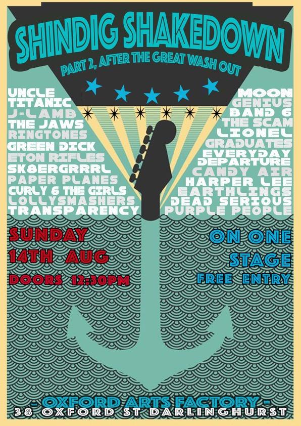 annual concert posters kings cross conservatorium